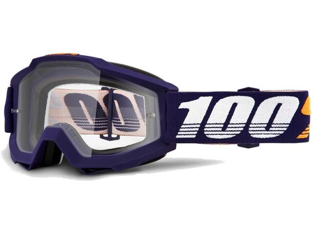100% Accuri Anti Fog Clear Goggles grib